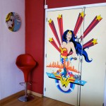 Fresque Salon