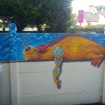 Fresque Dragon