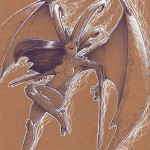 Artbook femmes animales sexy Thib illustrateur dragon