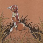 Artbook femmes animales sexy Thib illustrateur taupe