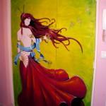 Fresque Salon