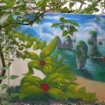 Fresque exterieure