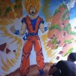 Fresque DBZ
