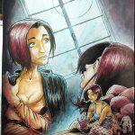 """A3 =500€ illustration pour le livre """"Rebirth"""" de Johanna Zaïre"""