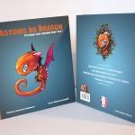 Une Histoire de dragon : Piti-Crok veut grandir trop vite ! livre pour enfants