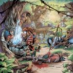Illustration pour le jeux de rôle RHIM