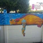 Fresque Dragon