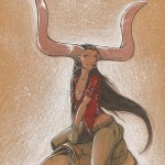 Femme Zébu