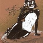 Femme Panda