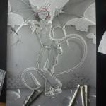 Femme Dragon A2