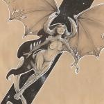 Femme Dragon