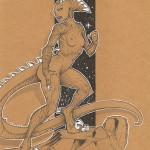 Femme Vélociraptor
