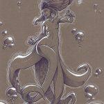 artbook femmes animales Thib