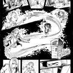 Planche A3 du livre Nightmare