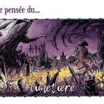 "Carte Postale ""Cimetière"""