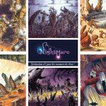 """Carte Postale """"Nightmare univers"""""""