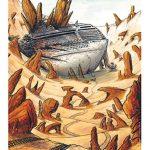 """Carte Postale """"Paquebot"""""""