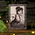 "Sketch Card ""Black"""