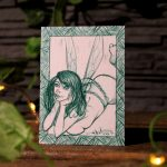 "Sketch Card ""Green"""