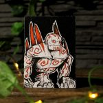 "Sketch Card ""Monster"""