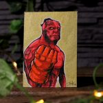 "Sketch Card ""Red"""