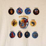 "T-shirt ""univers Piti-crok"" col rond 10/12 ans"